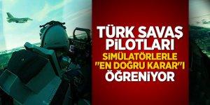 """Türk savaş pilotları simülatörlerle """"en doğru karar""""ı öğreniyor"""