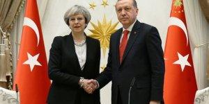 Başkan Erdoğan, İngiltere Başbakanı May ile görüştü!