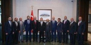 Cumhurbaşkanı Yardımcısı Fuat Oktay, ATO heyetini kabul etti!