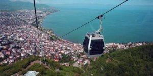 Boztepe'deki teleferik ile  9 günde 100 bin yolcu taşıdı!