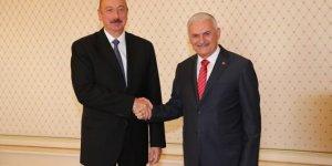 Azerbaycan Cumhurbaşkanı TBMM Başkanı Yıldırım'ı kabul etti!