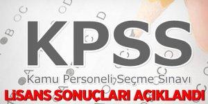 son dakika!. KPSS lisans sonuçları açıklandı