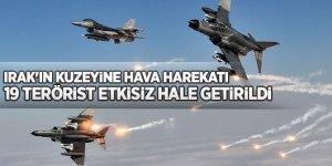 Zap, Gara ve Hakurk bölgelerine hava harekatı: 19 terörist etkisiz hale getirildi