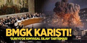 BMGK karıştı! 'Suriye'de kimyasal silah' tartışması