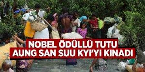 Nobel ödüllü Tutu, Aung San Suu Kyi'yi Kınadı