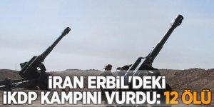 Erbil'de faaliyet gösteren İran-Kürdistan Demokrat Partisi'ne saldırı! 12 Ölü