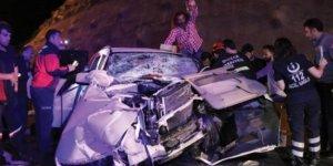 TEM Otoyolu'nda korkunç kaza!