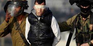 2'si çocuk 12 Filistinliyi İsrail askerleri gözaltına aldı