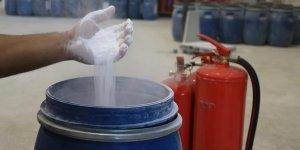 Bor madeninden yangın söndürme tozu