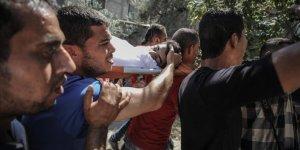 Filistinli 16 yaşındaki çocuk son yolculuğuna uğurlandı