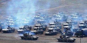 O ülkenin ordusu geniş kapsamlı tatbikata başladı!