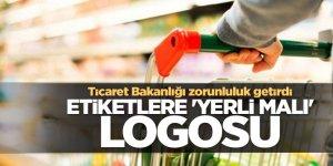 Flaş Haber...Türkiye'de üretilen malların etiketlerinde logo zorunluluğu...
