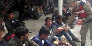 Flaş Haber...Kırklareli'de 58 kaçak göçmen yakalandı