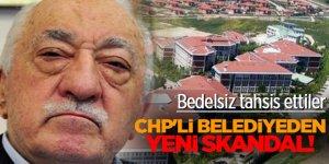 CHP'li belediyeden yeni skandal! Bedelsiz tahsis ettiler