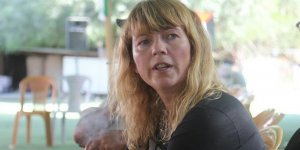 İsrail'in plastik mermileri Norveçli kadını yolundan döndürmedi!