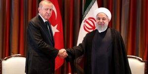 Başkan Erdoğan'ın Hasan Ruhani ile görüşmesi sona erdi!