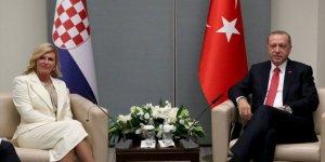 Başkan Erdoğan ABD'de liderleri kabul etti!