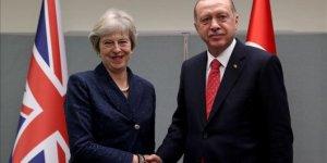Erdoğan'ın, İngiltere Başbakanı ile görüşmesi başladı!