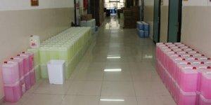 40 çeşit temizlik malzemesi üretilen okul 4.5 milyon TL ciro yaptı