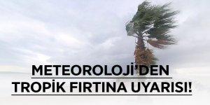 Ege'de tropik fırtına uyarısı!