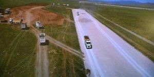 Gümüşhane'de havalimanı çalışmaları devem ediyor