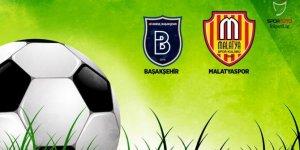 Başakşehir, Evkur Yeni Malatyaspor'u konuk ediyor
