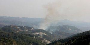 Suriye sınırında yangın!