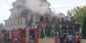 Sakarya'da Camii Yangını!