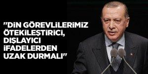 Erdoğan: Camilerimiz sürekli açık kalmalı