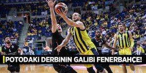 Potadaki derbinin galibi Fenerbahçe!