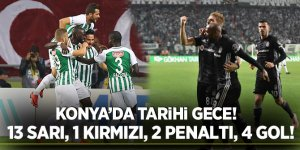 Beşiktaş 1 puanla yetindi! Konyaspor Beşiktaş maç özeti izle