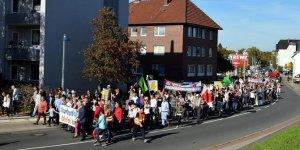 Cami saldırısı Almanya'da protesto edildi