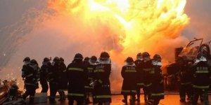 Çin'de feci yangın: 5 ölü