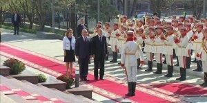 Cumhurbaşkanı Erdoğan Moldova'da!