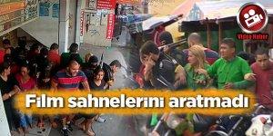 Brezilya'da akıl almaz soygun! Film sahnelerini aratmadı