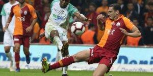 Süper Lig'in 9. haftasında evinde Galatasaray 16 maç sonra puan kaybetti!