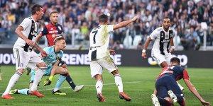 Cristiano Ronaldo'nun golü Juventus'a yetmedi