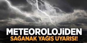 Meteoroloji uyardı! 5 il için sağanak yağış uyarısı!
