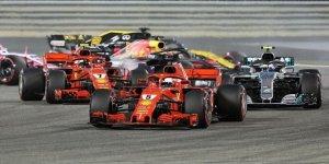 Raikkonen sezonun ilk yarış galibiyetini elde etti!