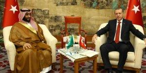 Başkan Erdoğan, Prens Selman ile görüştü!