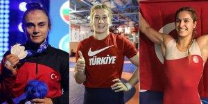 Kadın Güreş Milli Takımı'ndan 3 madalya