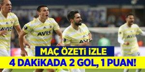 4 dakikada gerçek Fenerbahçe! Anderlecht - Fenerbahçe maçı özeti izle