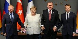 Suriye konulu dörtlü zirve Alman ve Rus basınında geniş şekilde yer aldı!