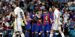 Barcelona, sahasında Real Madrid'i 5-1 yendi!.
