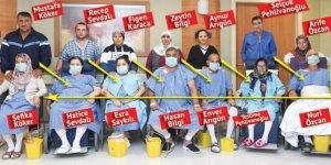 Birbirini tanımayan 7 gönüllü verici böbreklerini 7 hasta için aralarında takas etti!