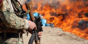 Afganistan'da uyuşturucu operasyonu...