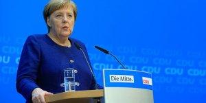Merkel: Federal hükümeti sürdürme yönünde ortak kanaatimiz var