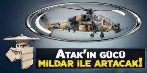 Milli helikopter Atak'ın gücü mildar ile artacak!