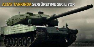 Altay tankında seri üretime geçiliyor!