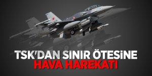 PKK'ya ağır darbe! Irak'ın kuzeyine hava harekatı